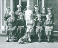 Matron with Senior Nursing Staff outside the Assistant Medical Officer's Residence -1965