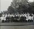 Staff assembled outside the Administration Building -1960's