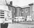 Ambulances outside Main Hospital Buildings -1966